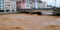 La Nive à Bayonne le 04 juillet 2014