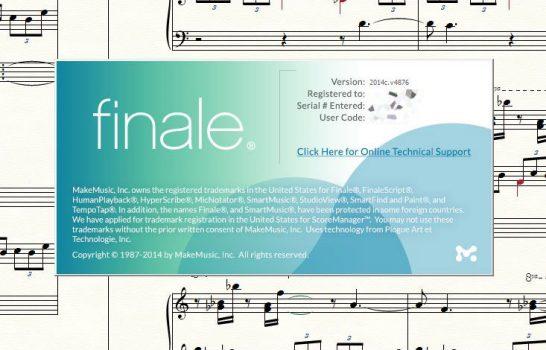 Encore une mise à jour pour Finale 2014 – Finale 2014c