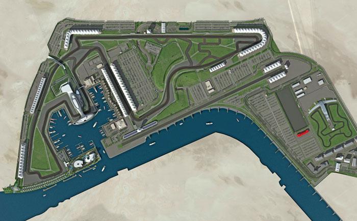 abudhabi circuit GP F1