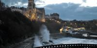 Fin du jour sur Biarritz coefficient 109