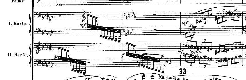 Heldenleben Richard Strauss2Harpes
