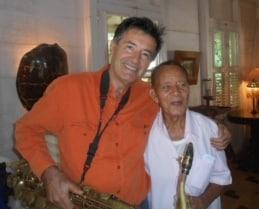 Pierre Fagalde et Eddy Gustave.