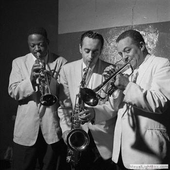 Chez Duke Ellington avec le saxophoniste Paul Gonsalves et le trompettiste Harold Baker
