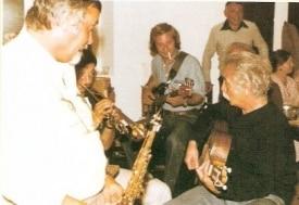 Georges Brassens en 1979 avec
