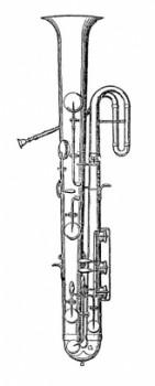 L'ophicléide, ancêtre du saxophone