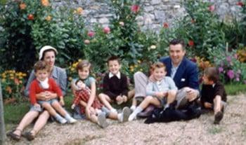 La famille Fagalde en 1952 bonheur