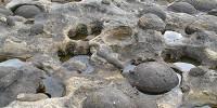 Paramoudras, les boules de pierre du Jaizkibel