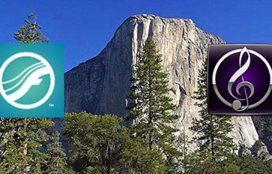Sibelius, Finale et Mac OS X El Capitan 10.11.2