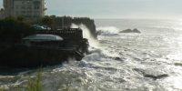 Biarritz, les vagues et … la patrouille de France