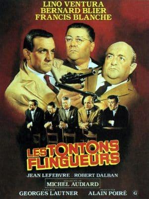 """Affiche """"Les tontons flingueurs"""""""