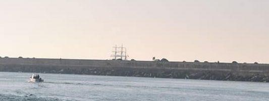 Arrivée du Belem au port de Bayonne