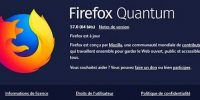 Firefox 57 Quantum enfin la vitesse
