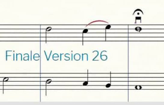 Makemusic annonce Finale v26